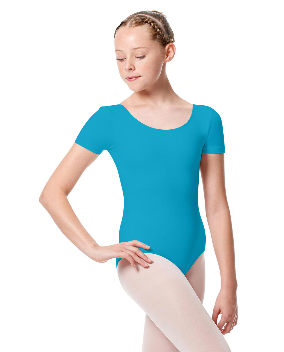 Girls Short Sleeve Leotard Tina ABLU