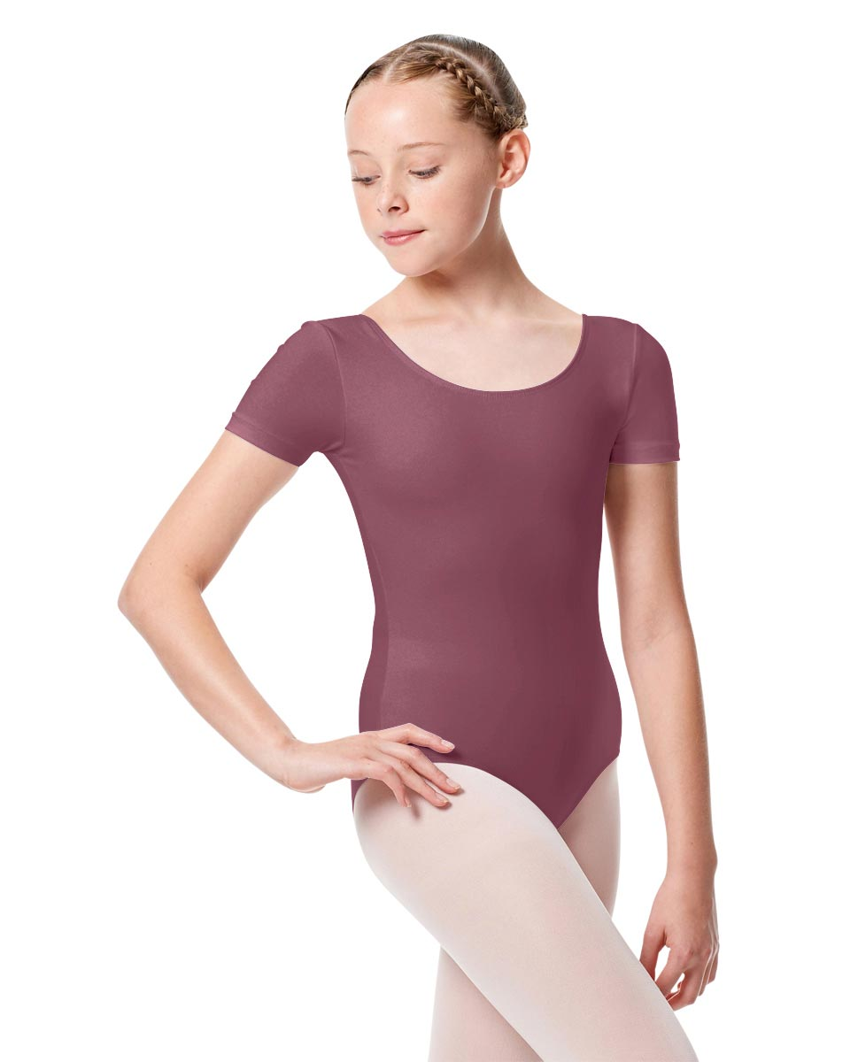 Girls Short Sleeve Leotard Tina DROS
