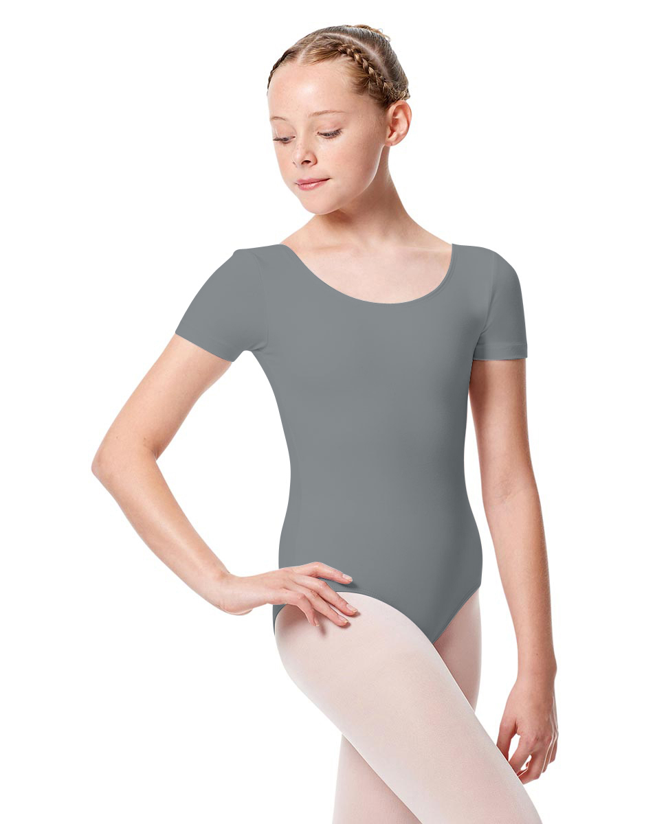 Girls Short Sleeve Leotard Tina GRE