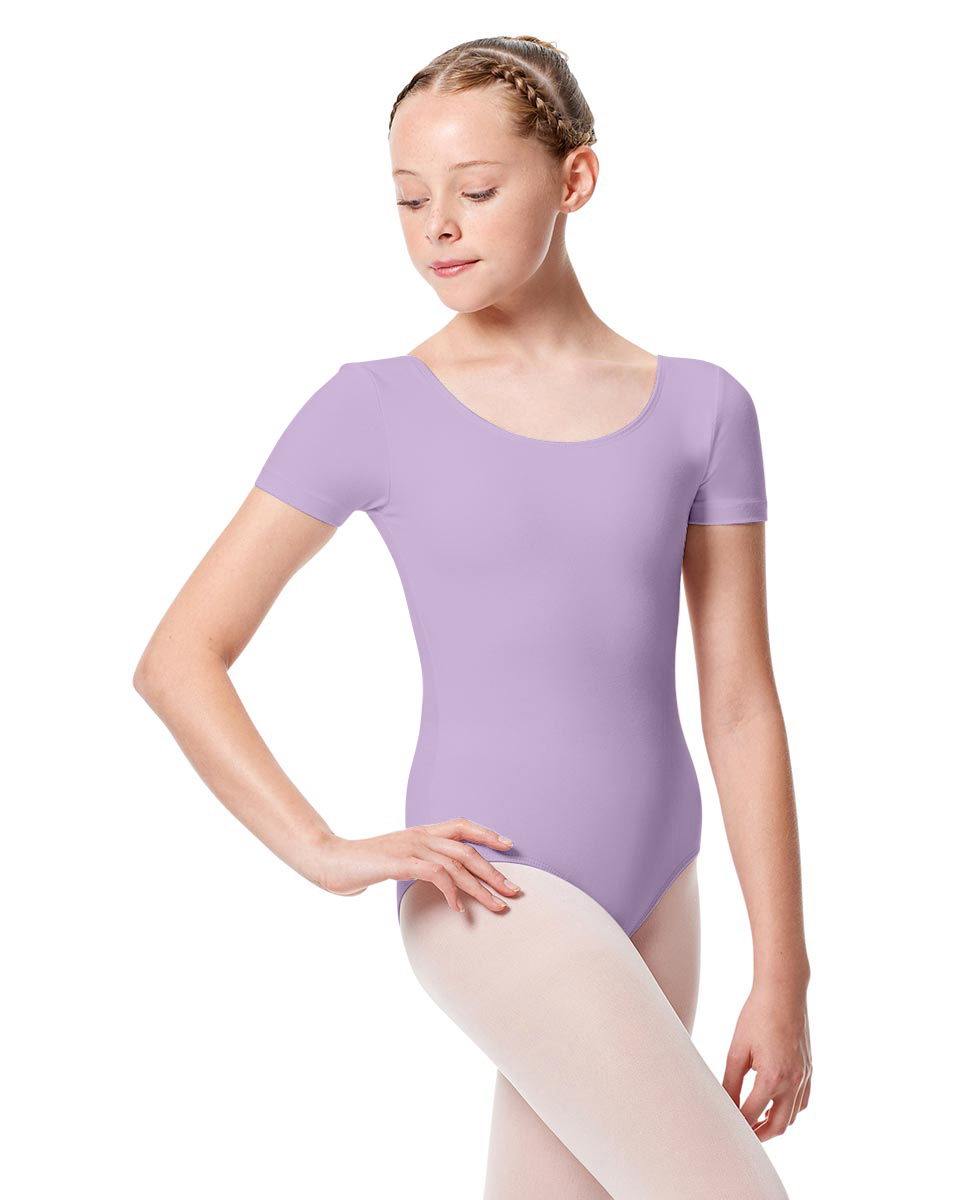 Girls Short Sleeve Leotard Tina LIL