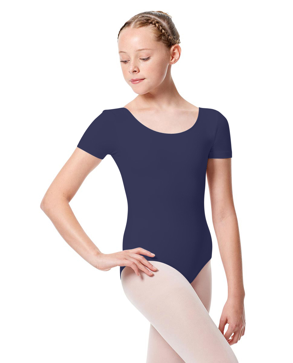 Girls Short Sleeve Leotard Tina NAY