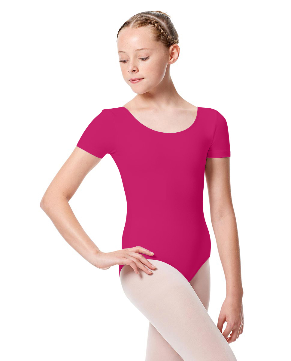 Girls Short Sleeve Leotard Tina RAS
