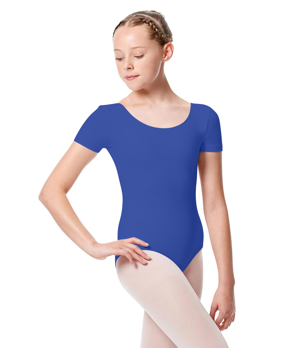 Girls Short Sleeve Leotard Tina ROY