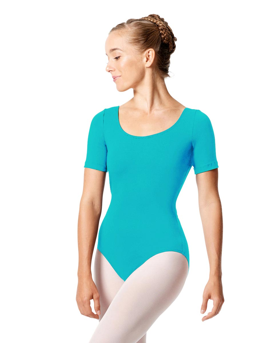 Short Sleeve Leotard Tina ABLU