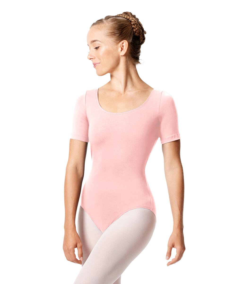 Short Sleeve Leotard Tina PNK