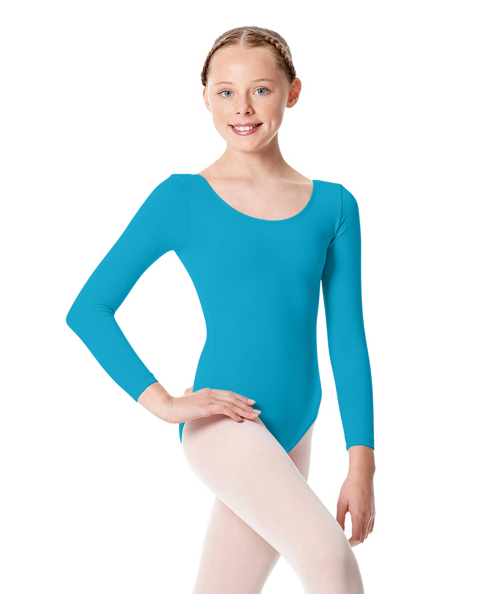 Girls Long Sleeve Leotard Martha ABLU