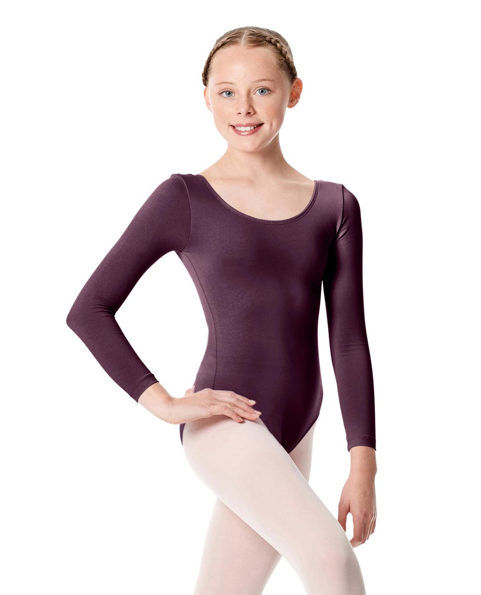 Girls Long Sleeve Leotard Martha AUB