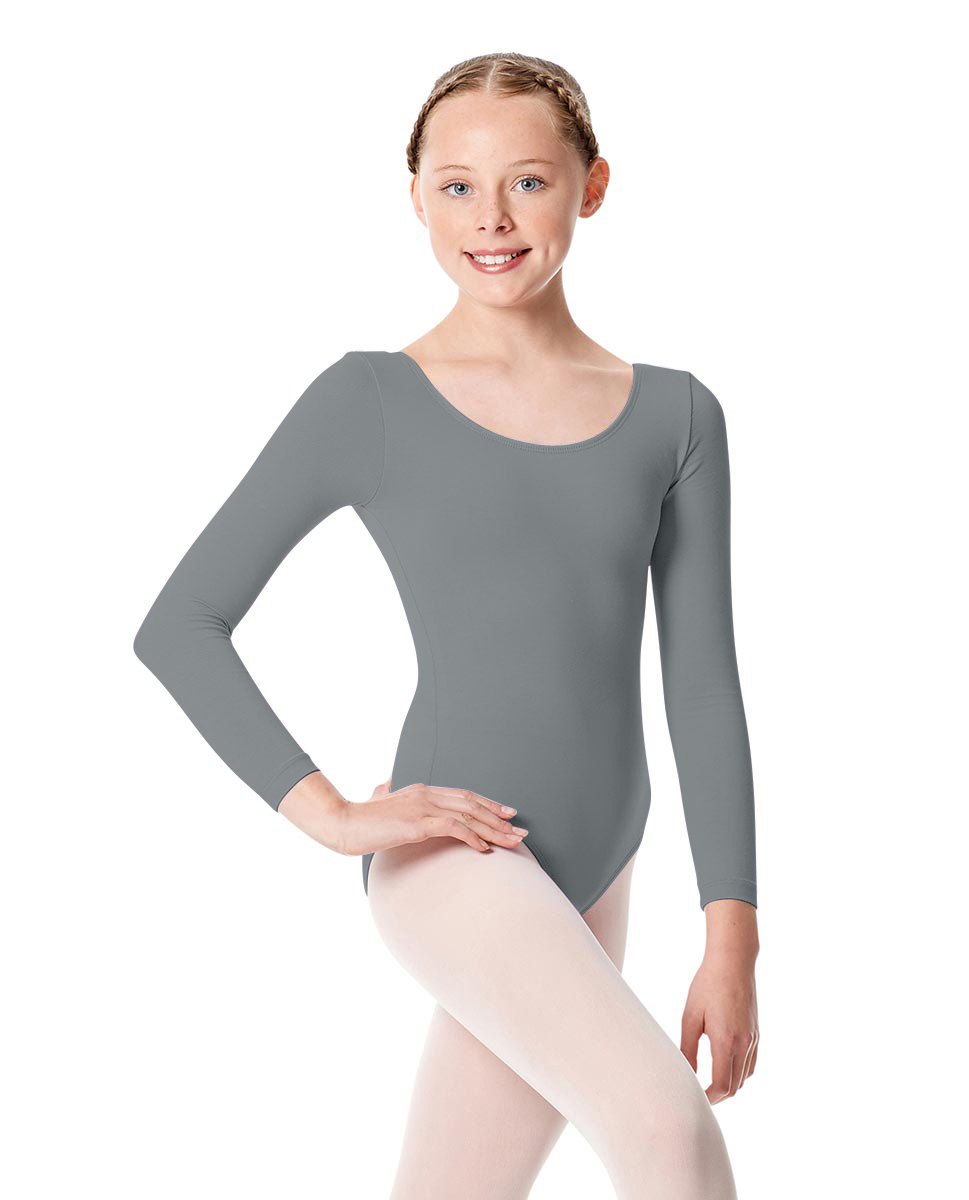 Girls Long Sleeve Leotard Martha GRE
