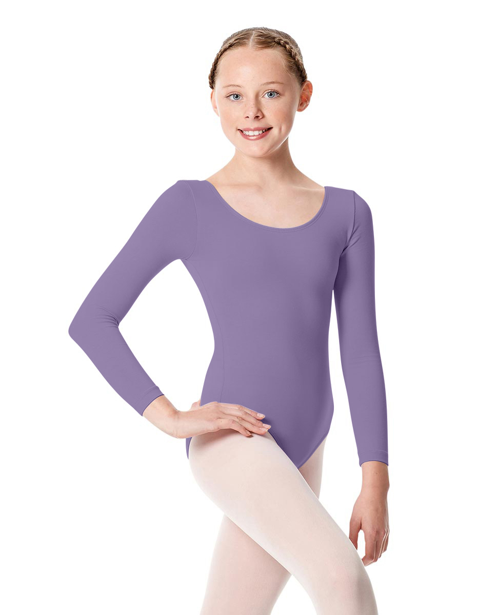 Girls Long Sleeve Leotard Martha LAV