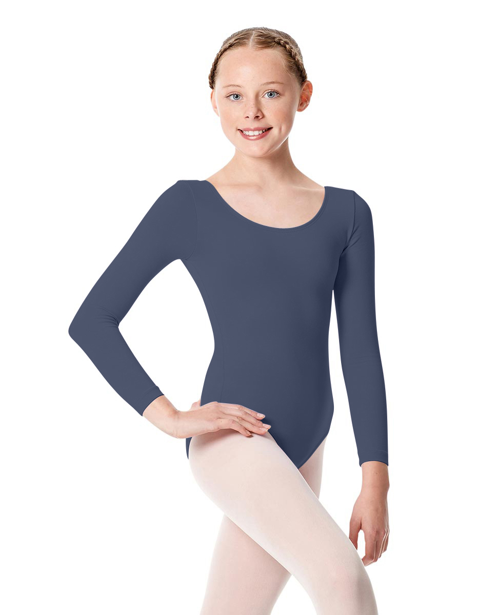 Girls Long Sleeve Leotard Martha MIDNAY