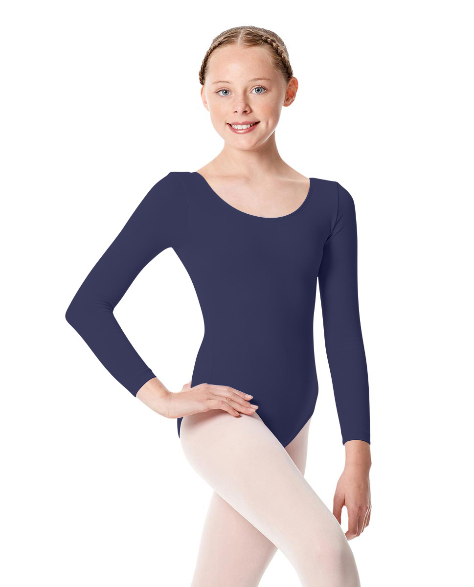 Girls Long Sleeve Leotard Martha NAY