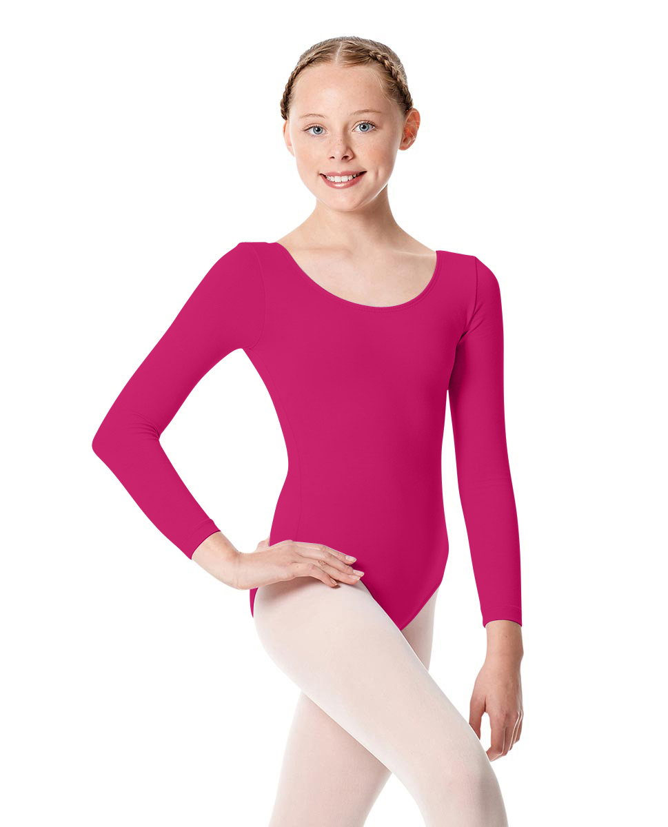 Girls Long Sleeve Leotard Martha RAS