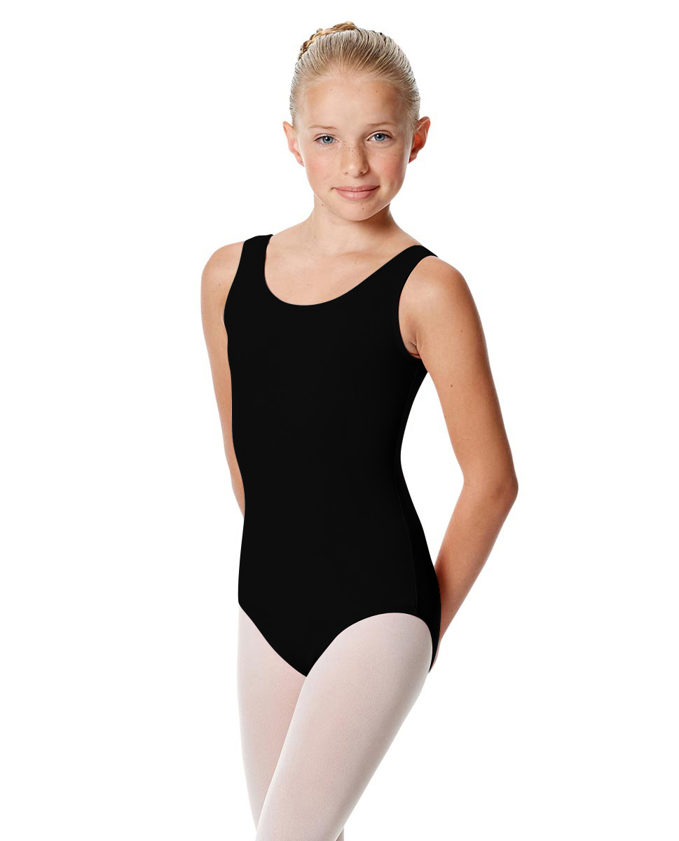 Girls Tank Leotard Adel BLK