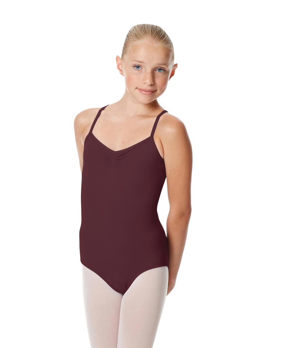 Girls Camisole Crisscross Leotard Jane AUB