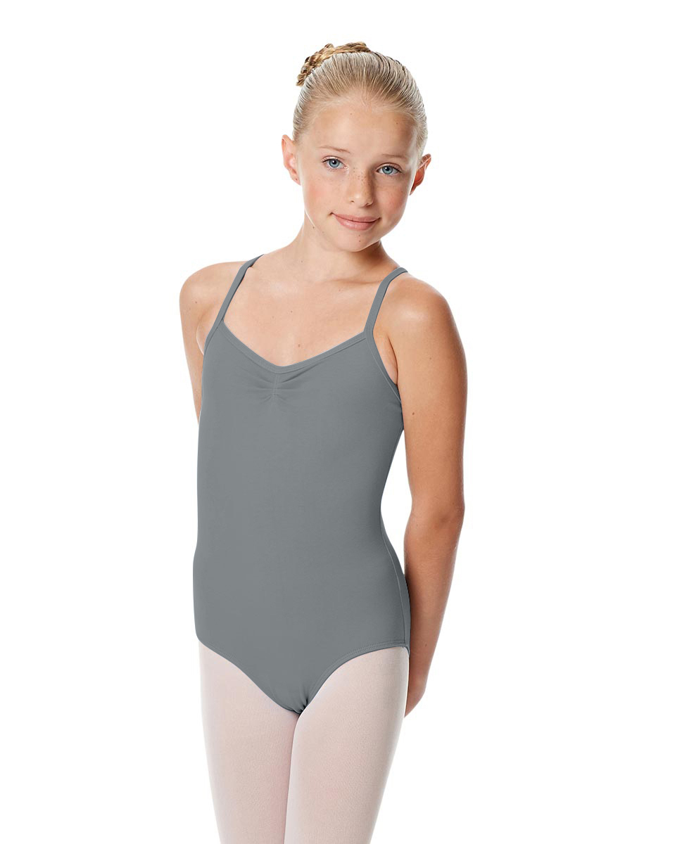 Girls Camisole Crisscross Leotard Jane GRE
