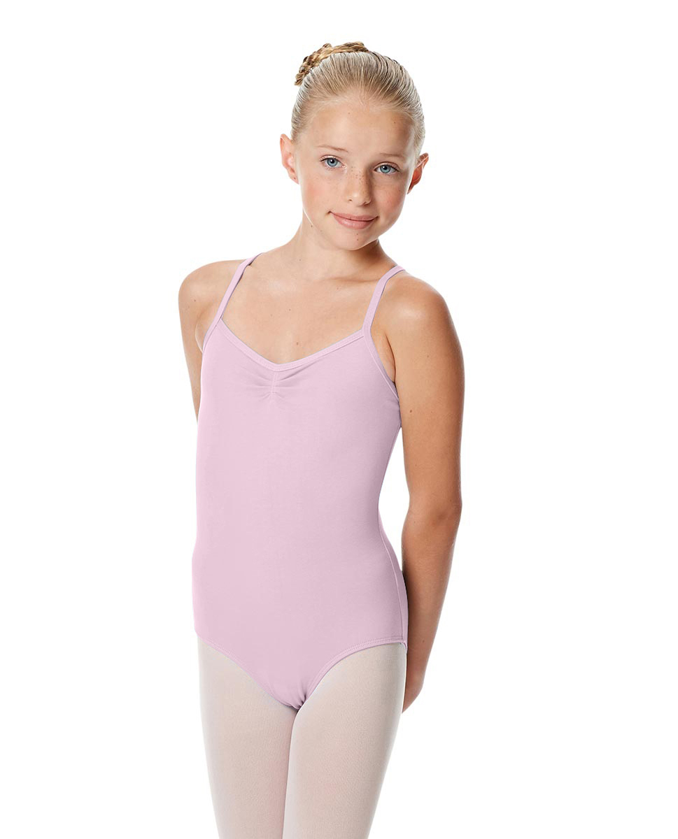 Girls Camisole Crisscross Leotard Jane PNK