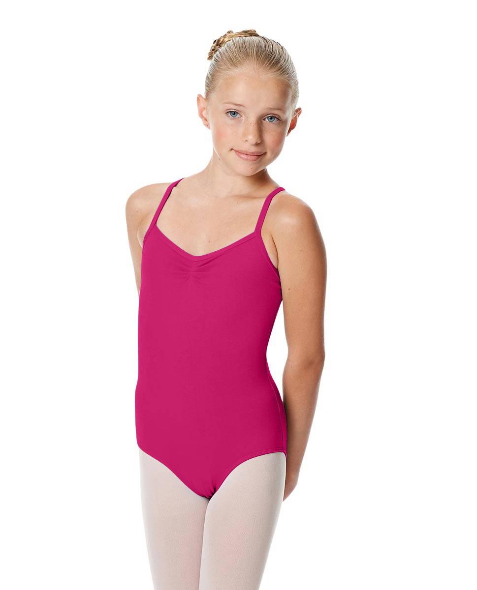 Girls Camisole Crisscross Leotard Jane RAS