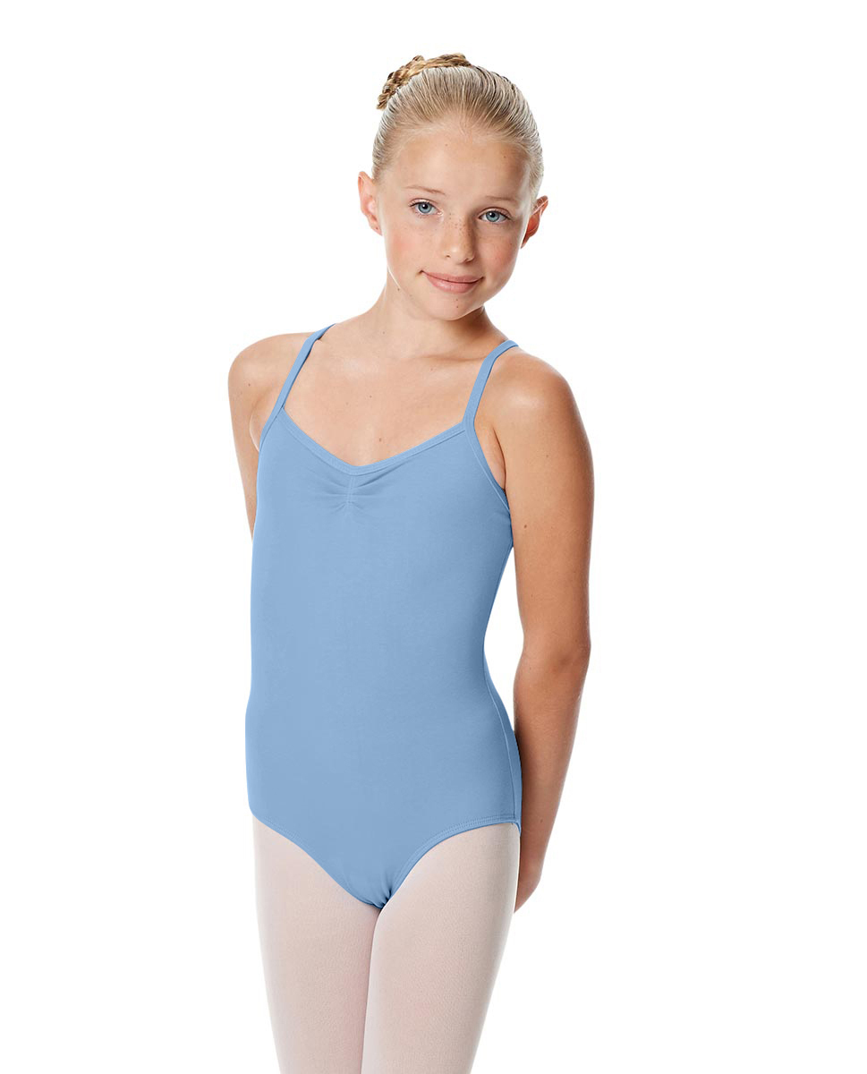 Girls Camisole Crisscross Leotard Jane SKY