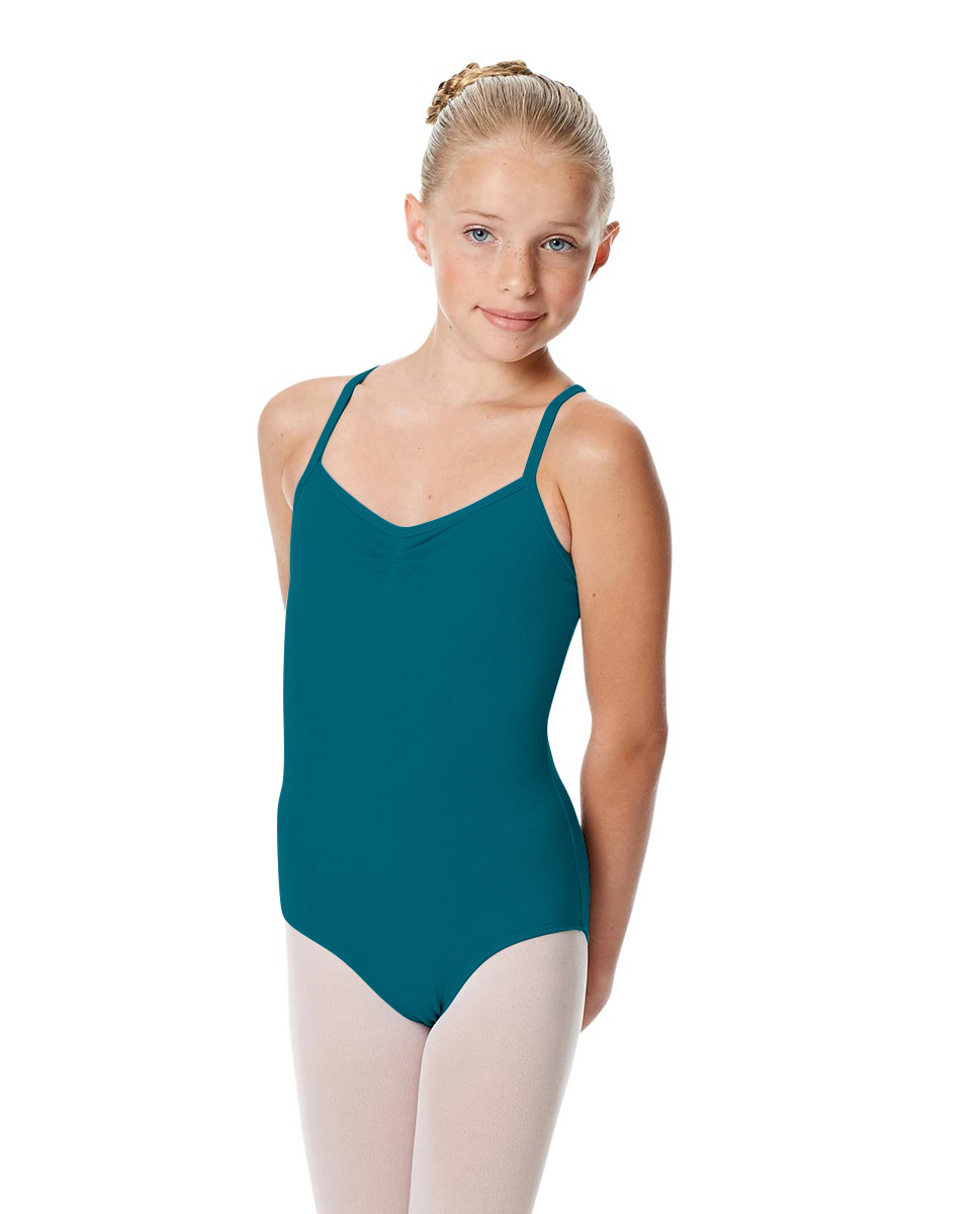 Girls Camisole Crisscross Leotard Jane TEA