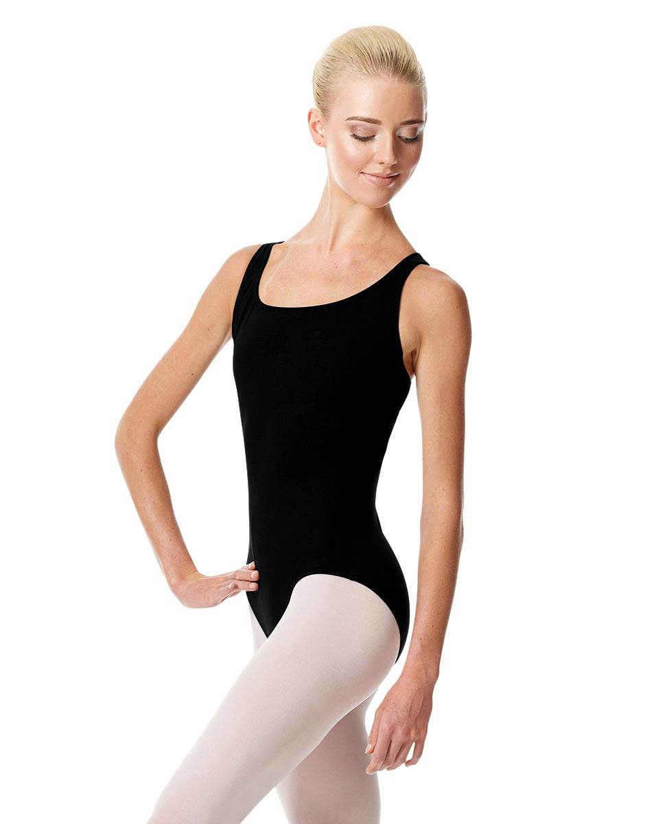 Tank Dance Leotard Theresa BLK
