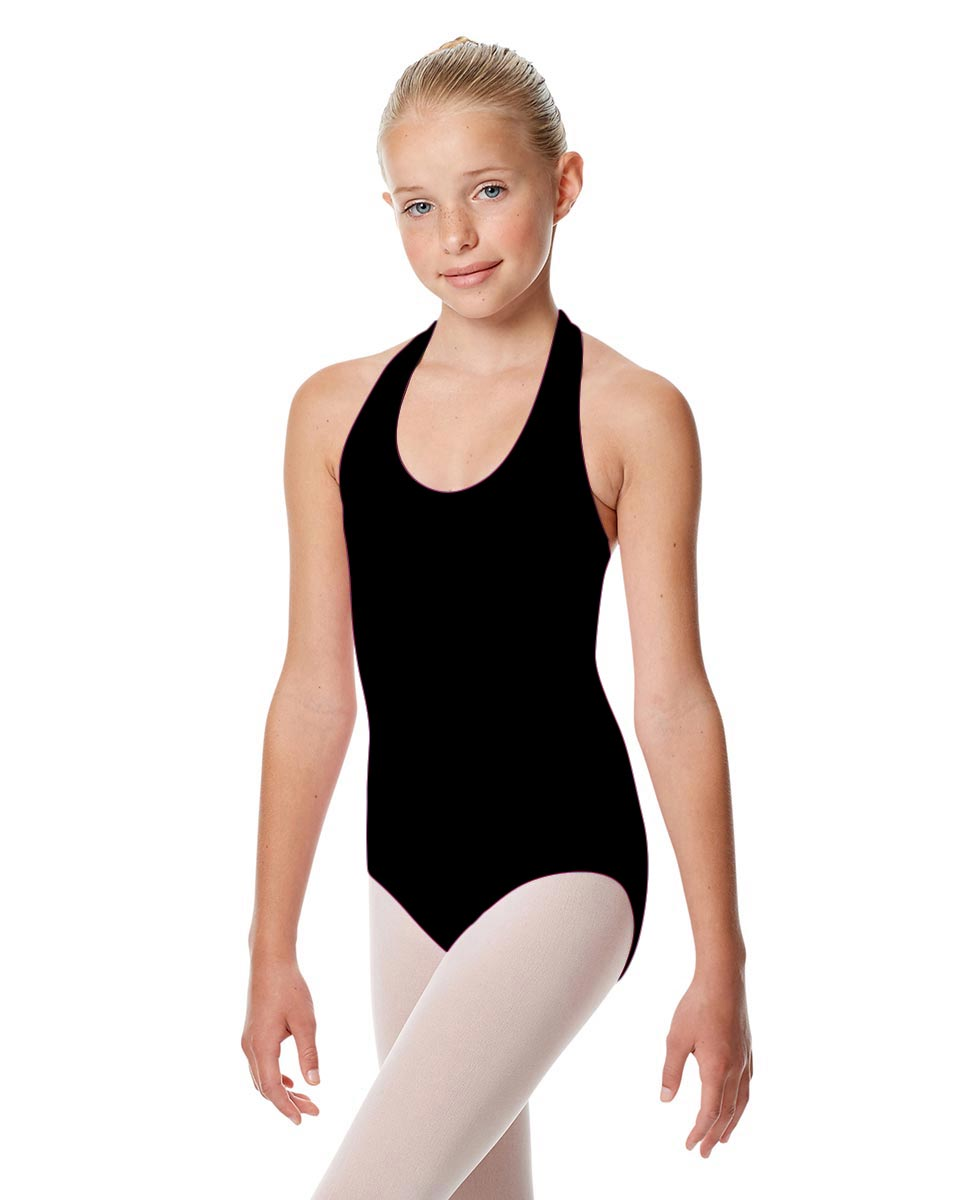 Girls Halter Dance Leotard Tamara BLK