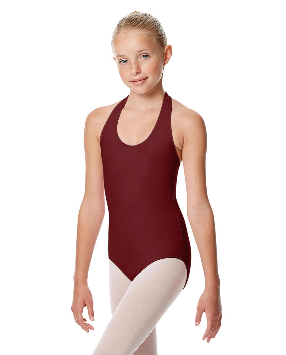 Girls Halter Dance Leotard Tamara BUR