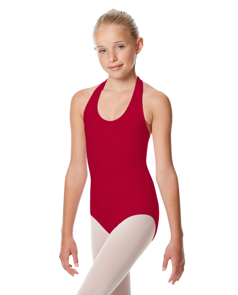 Girls Halter Dance Leotard Tamara DRED
