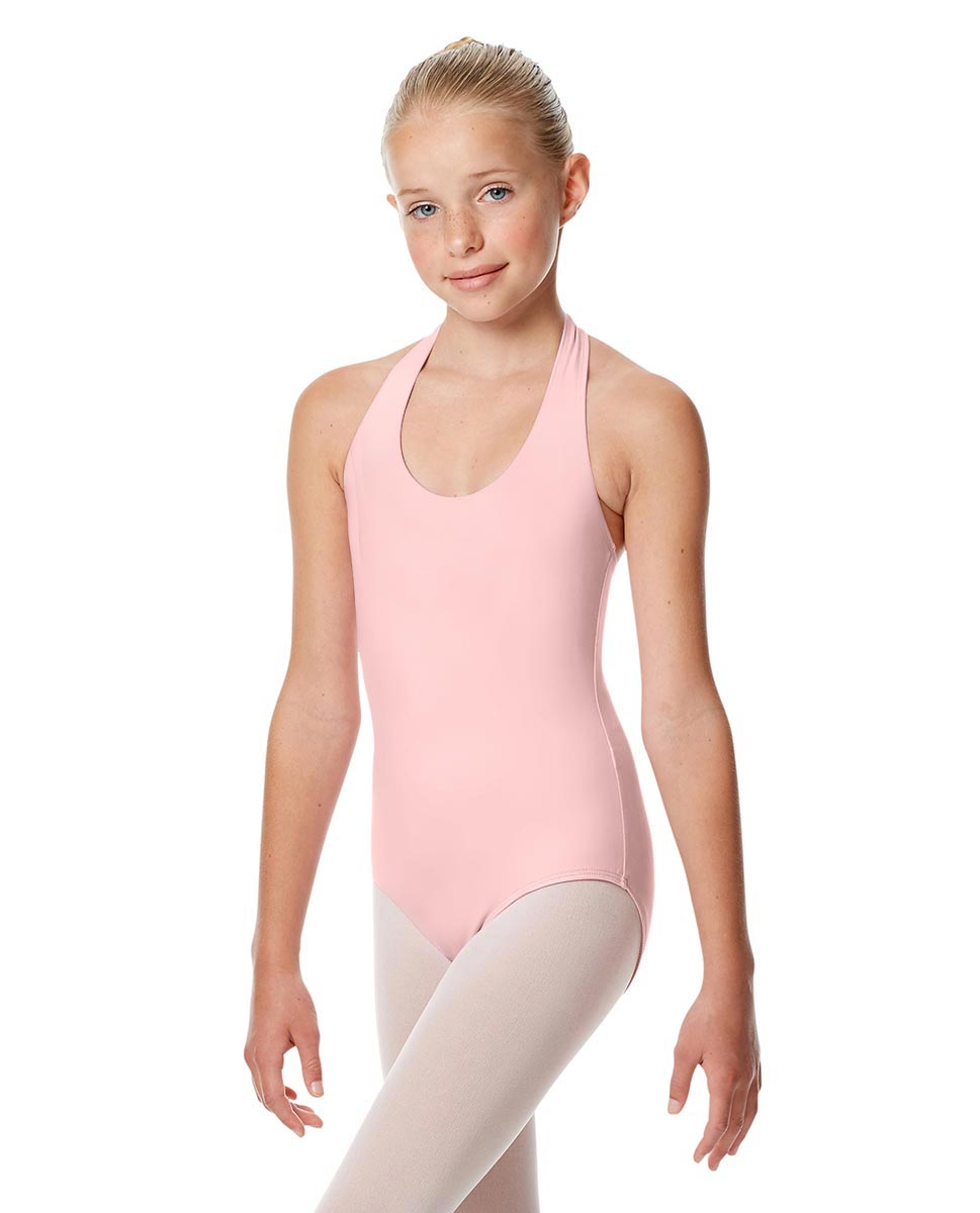 Girls Halter Dance Leotard Tamara PNK