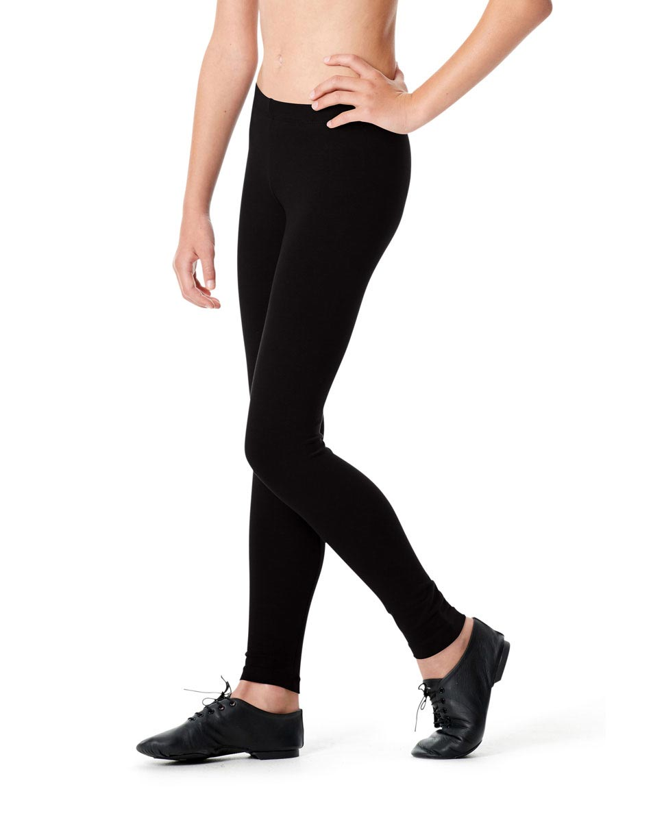 Girls Ankle Leggings Yvonne BLK