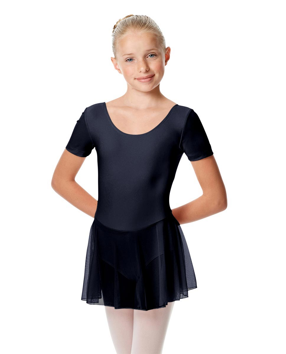 Girls Cap Sleeve Skirted Leotard Nelly NAY