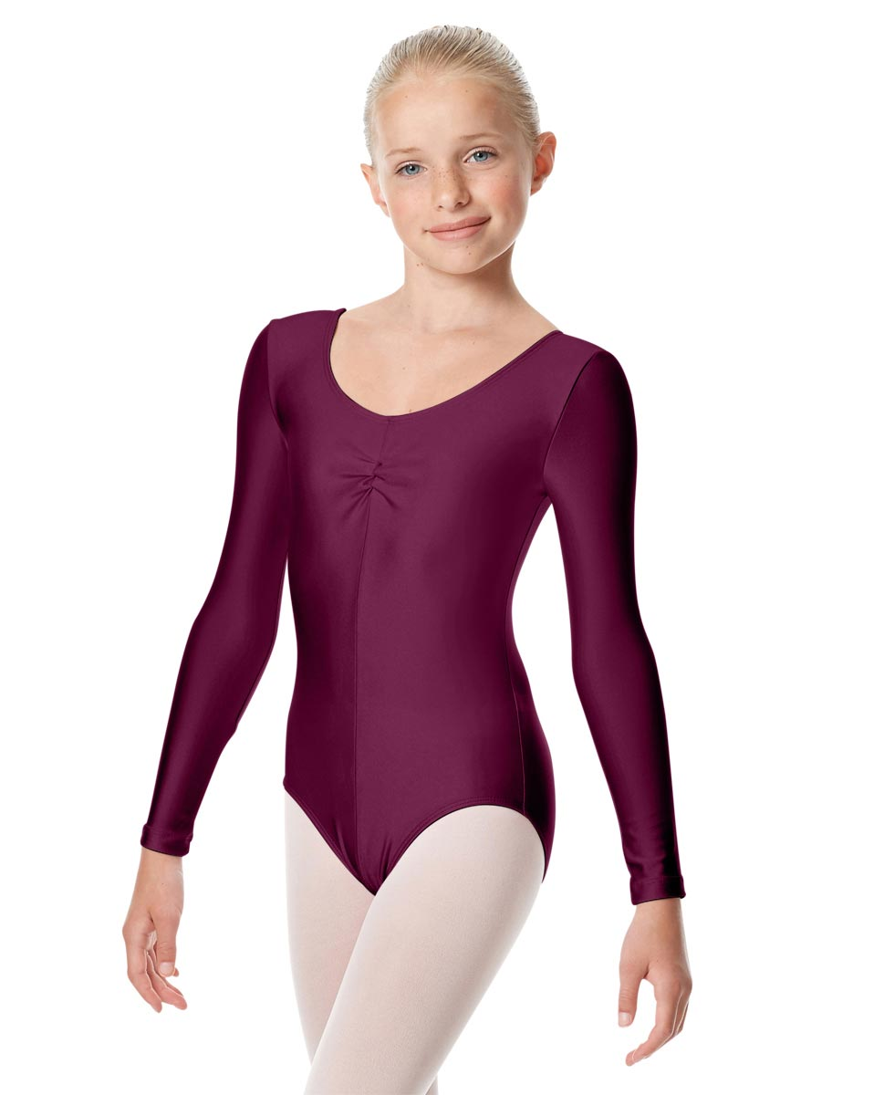 Girls Long Sleeve Ballet Leotard Giselle EGG
