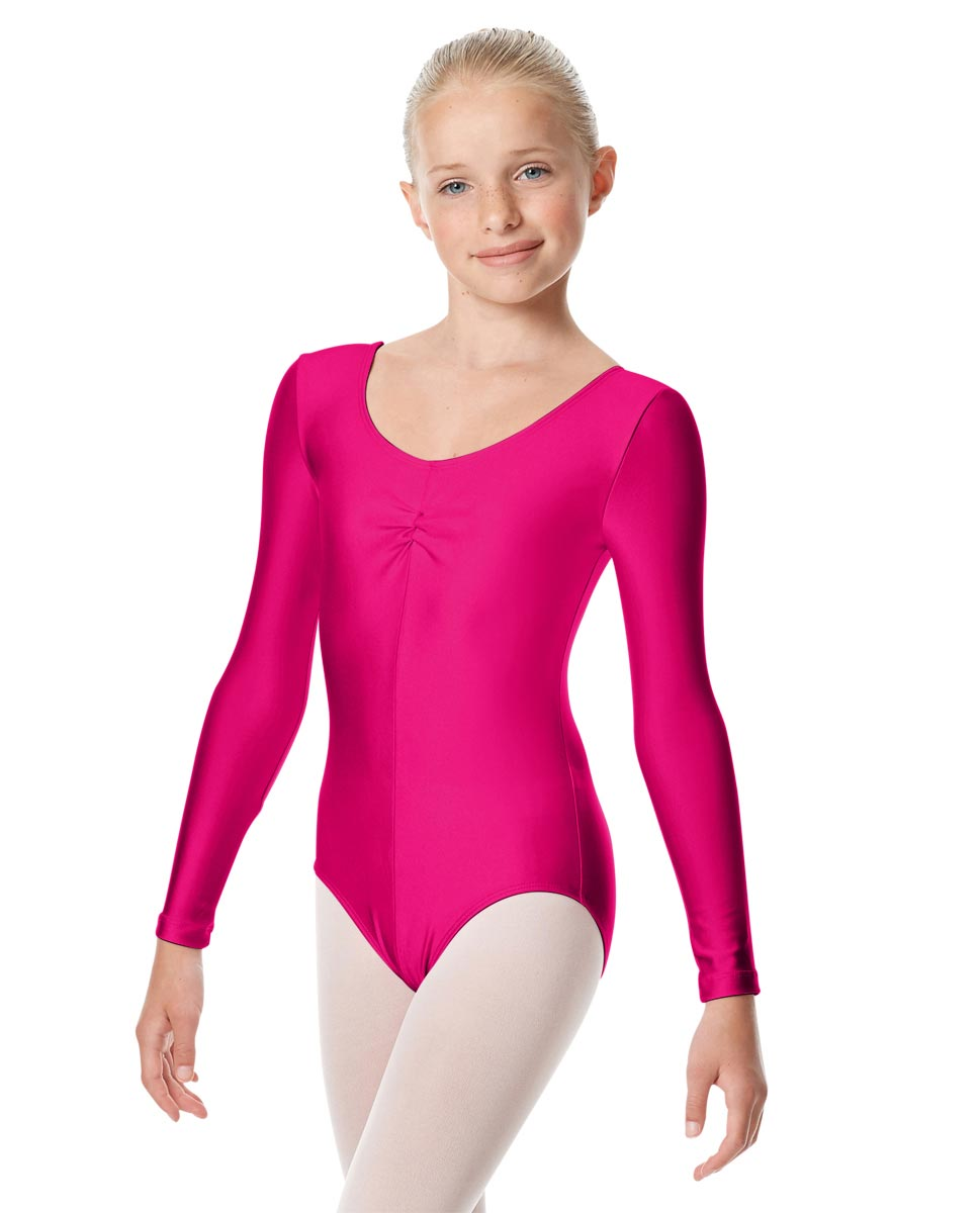 Girls Long Sleeve Ballet Leotard Giselle RAS