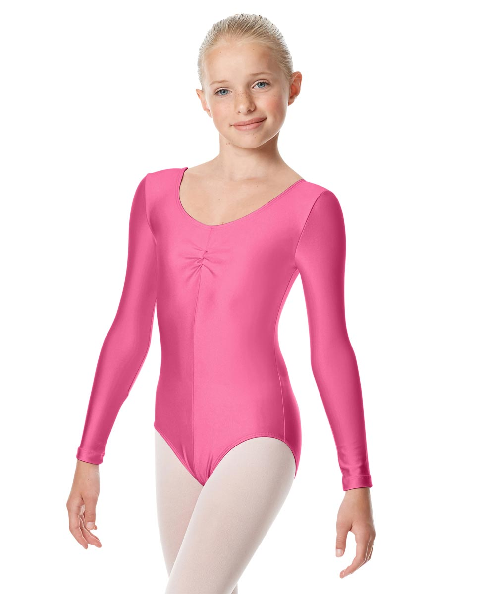Girls Long Sleeve Ballet Leotard Giselle ROS