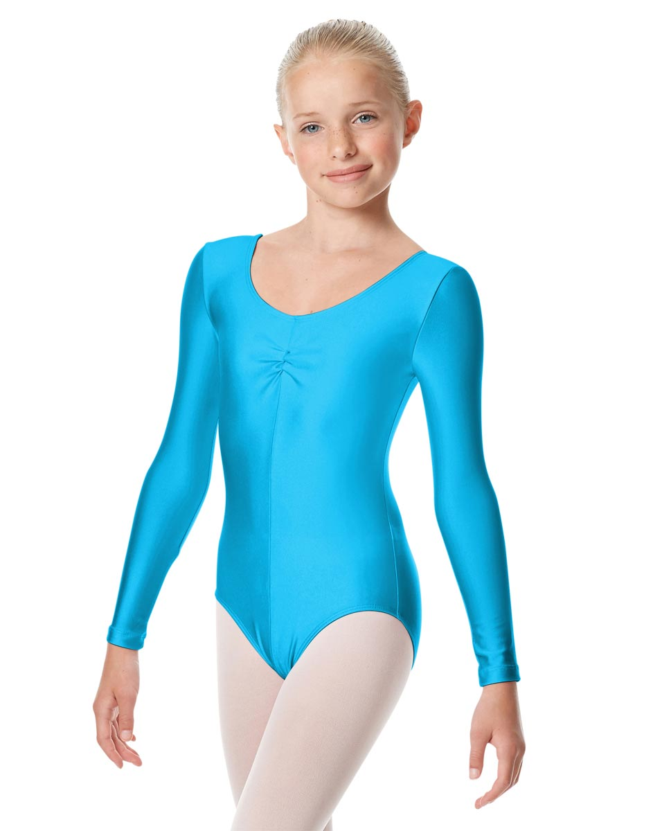 Girls Long Sleeve Ballet Leotard Giselle TUR