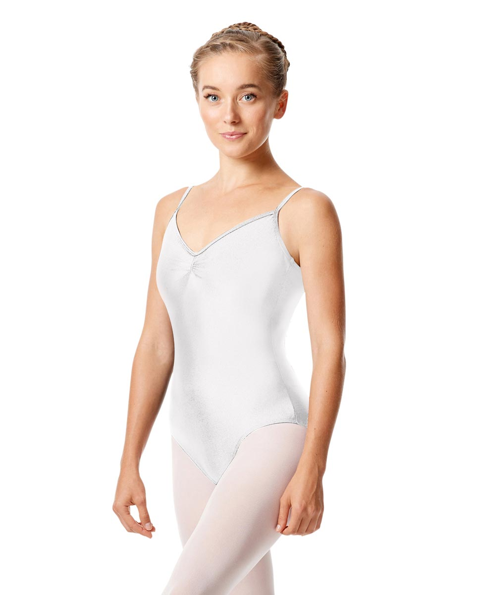 Sleeveless Dance Leotard Agnes WHI