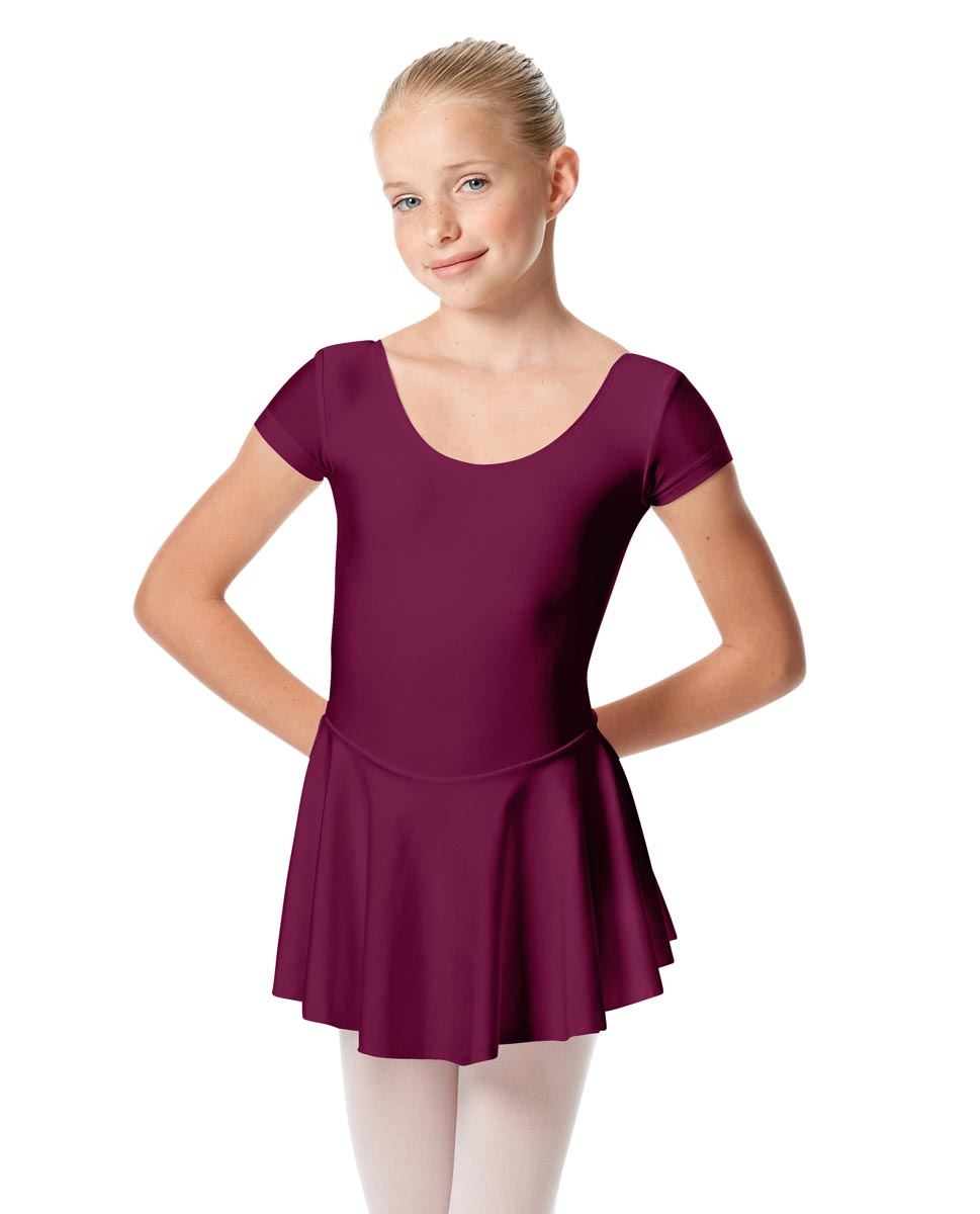Girls Cap Sleeve Skirted Leotard Emmy EGG