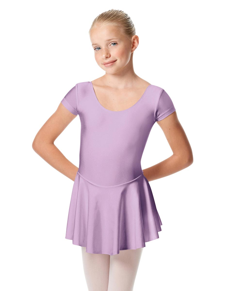 Girls Cap Sleeve Skirted Leotard Emmy LIL