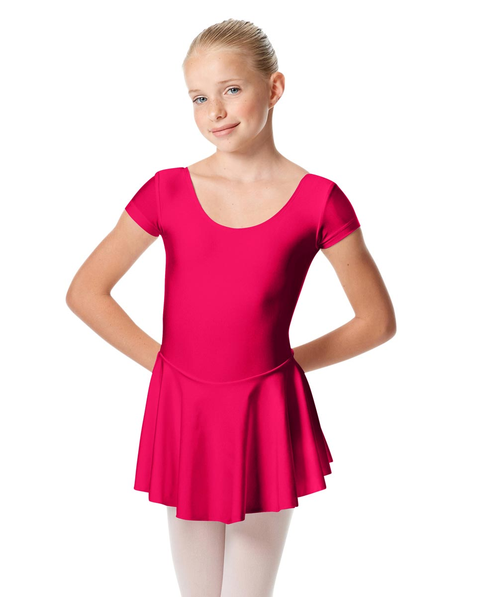 Girls Cap Sleeve Skirted Leotard Emmy RAS