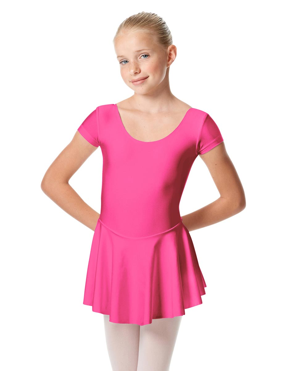Girls Cap Sleeve Skirted Leotard Emmy ROS