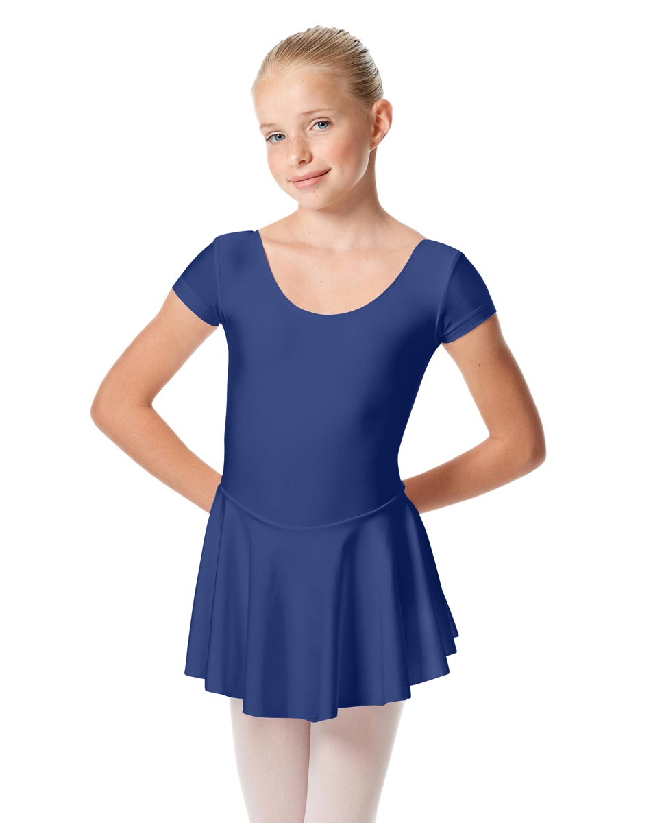 Girls Cap Sleeve Skirted Leotard Emmy ROY