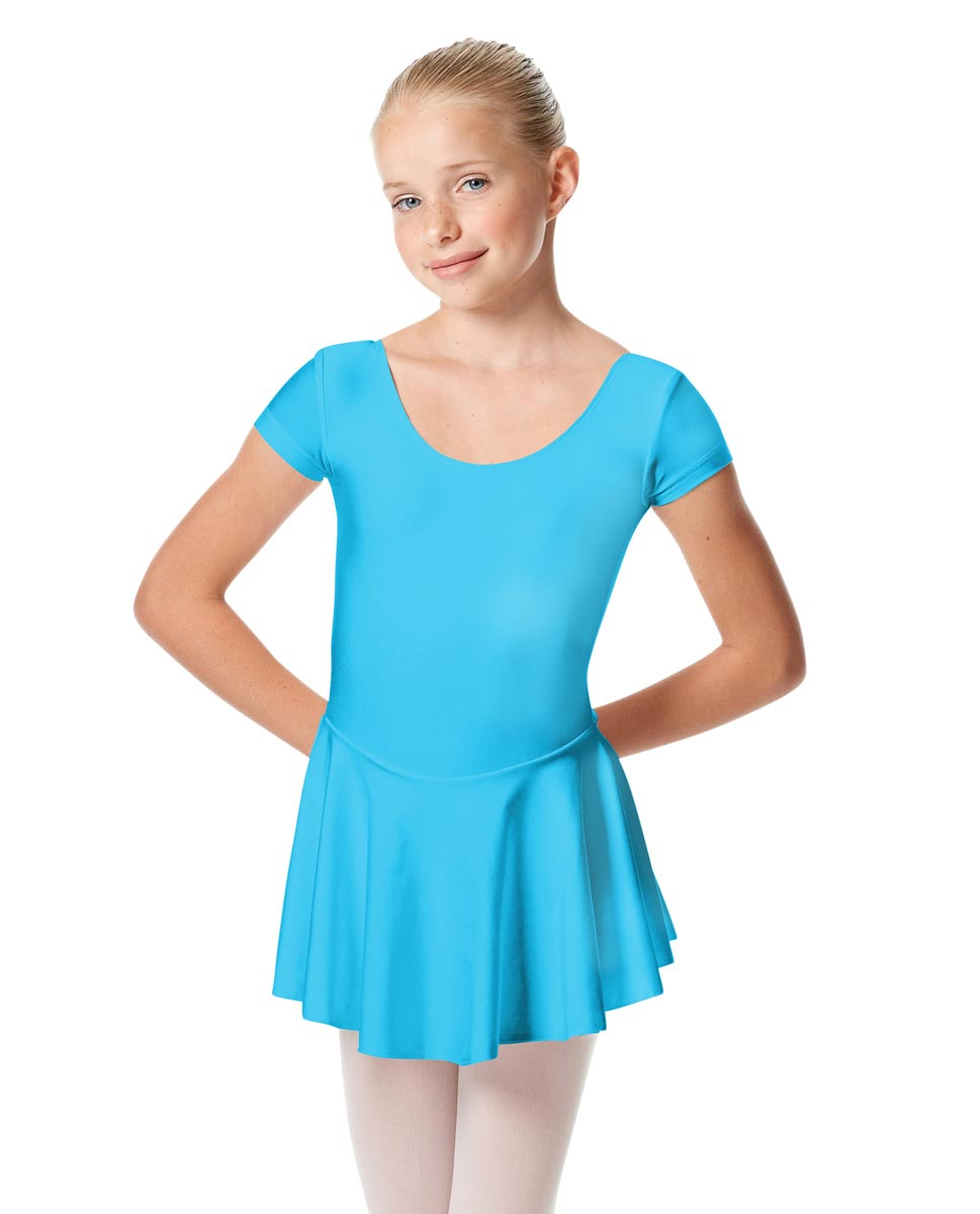 Girls Cap Sleeve Skirted Leotard Emmy TUR