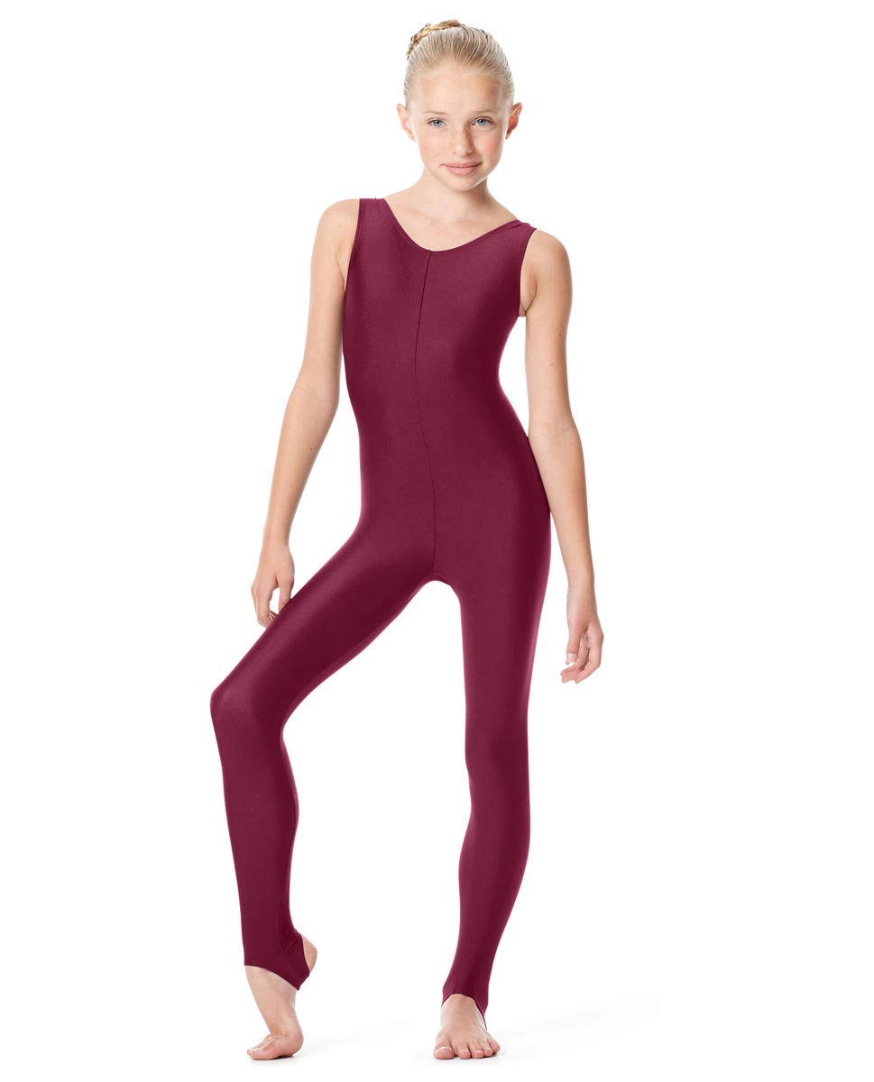 Girls Tank Unitard Matilde BUR