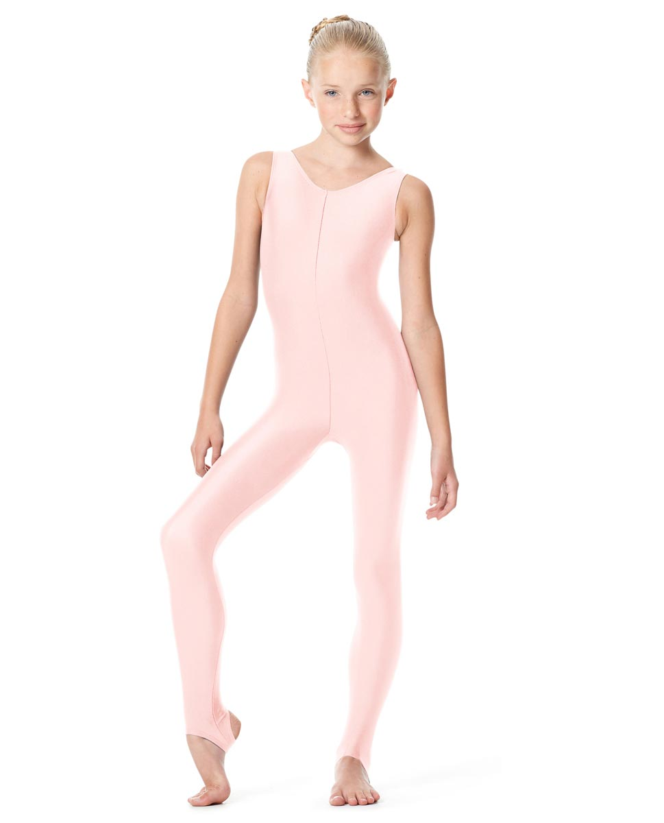 Girls Tank Unitard Matilde PNK
