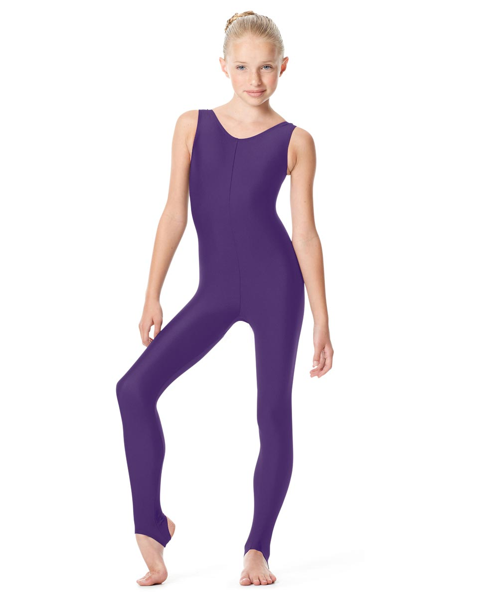 Girls Tank Unitard Matilde PUR