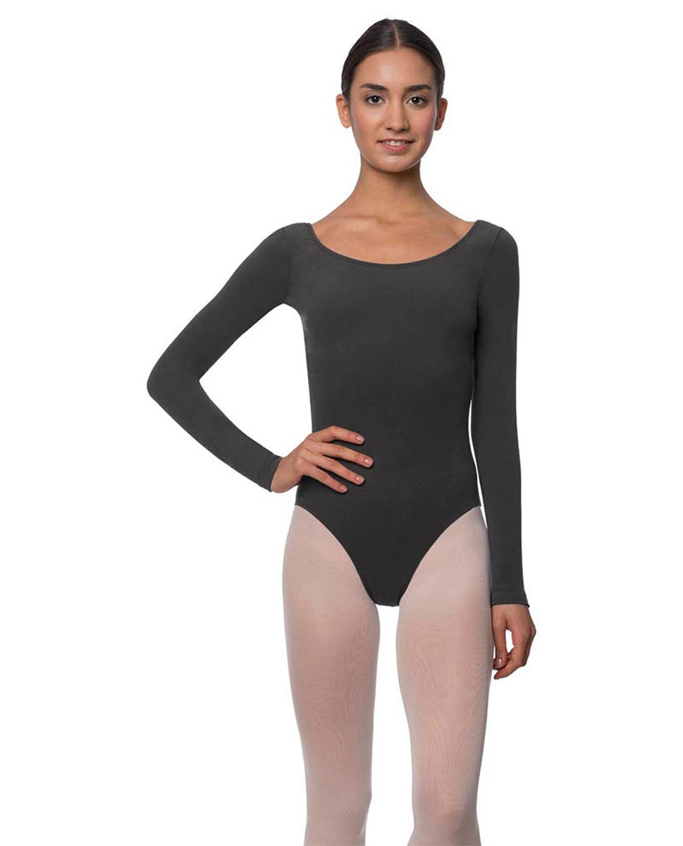 Long Sleeve Cotton Ballet Leotard Liv DGRE