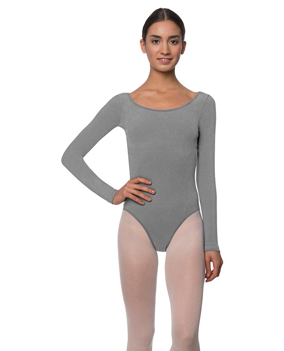 Long Sleeve Cotton Ballet Leotard Liv GRE