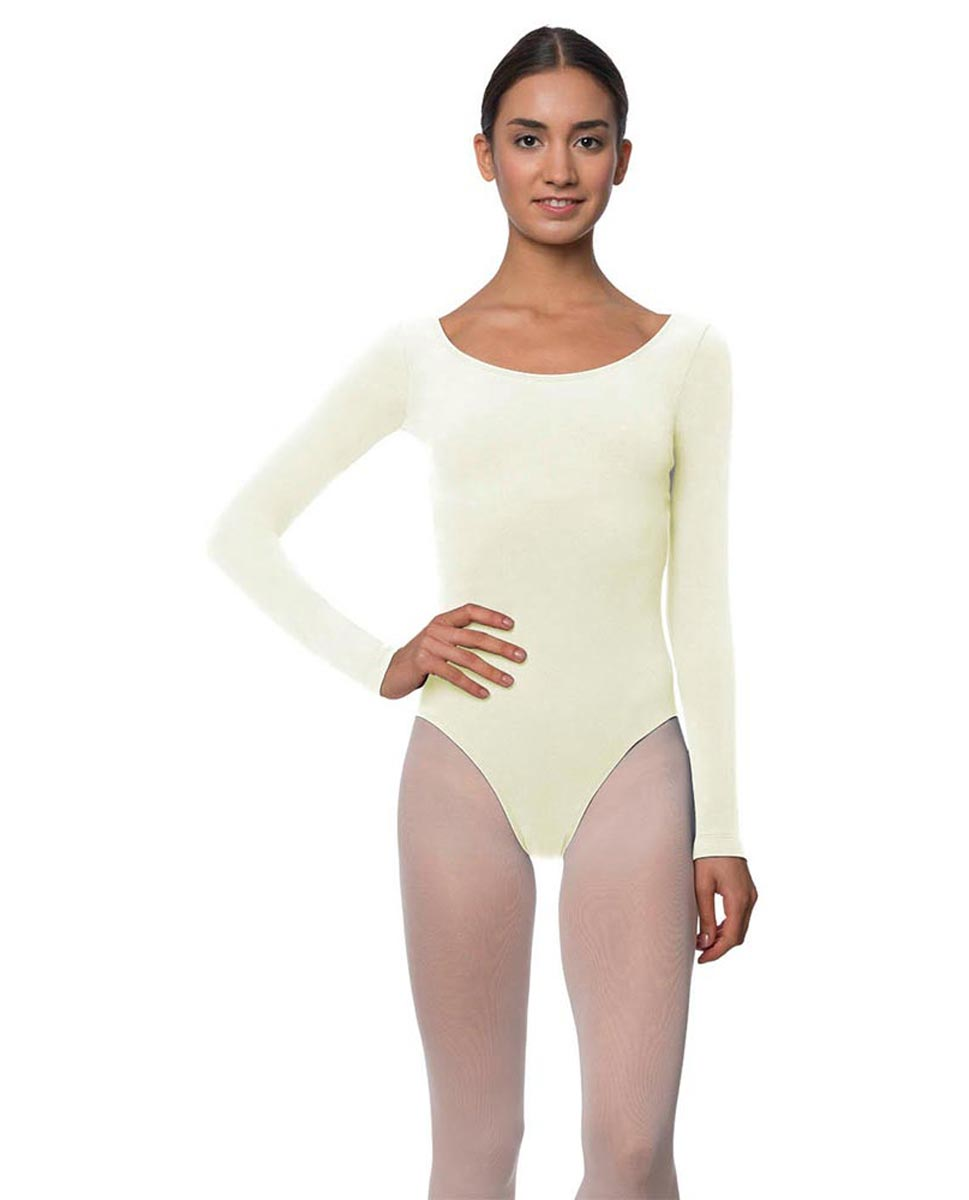 Long Sleeve Cotton Ballet Leotard Liv IVOR