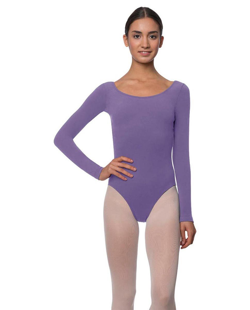 Long Sleeve Cotton Ballet Leotard Liv LAV