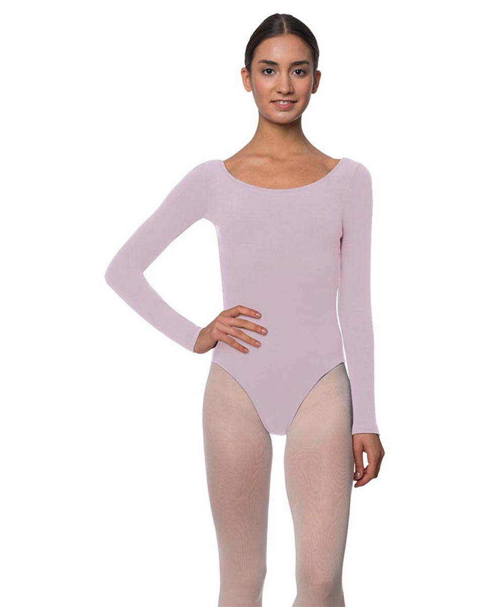 Long Sleeve Cotton Ballet Leotard Liv LIL