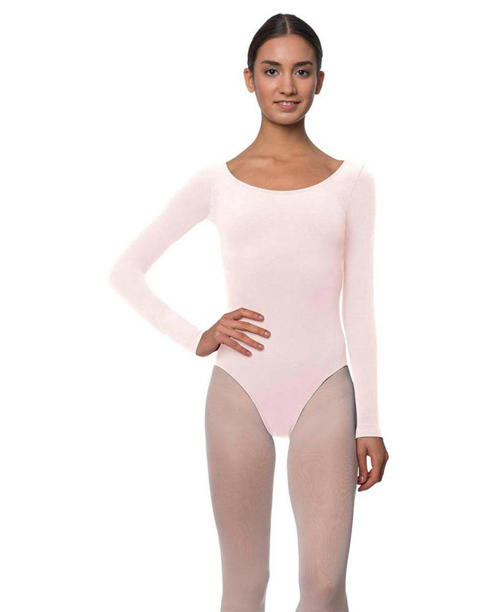 Long Sleeve Cotton Ballet Leotard Liv LPNK